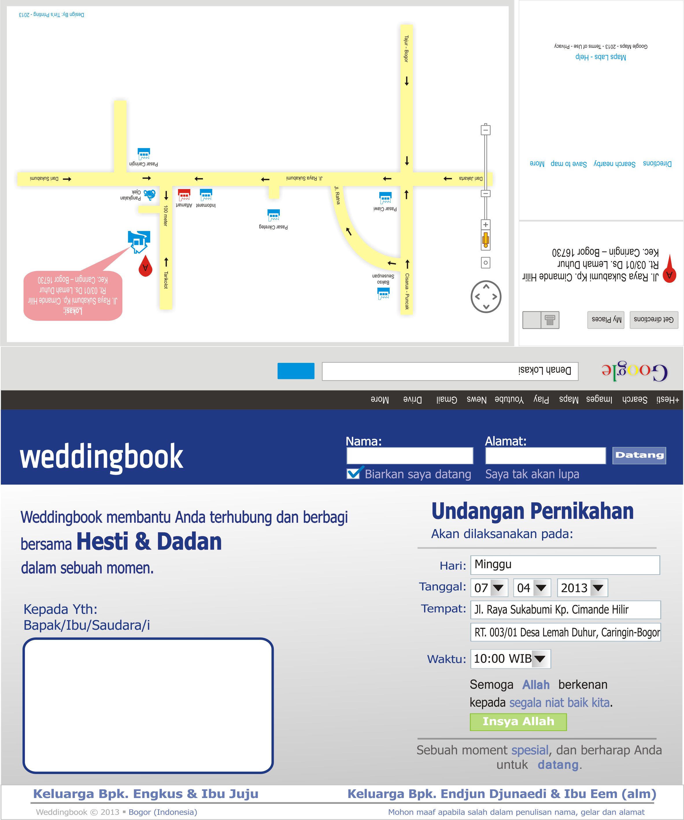 Download Desain Undangan Facebook Tin S Blog
